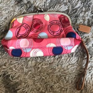 Coach wristlet, used once.